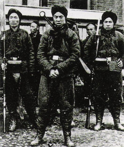 義和団の兵士