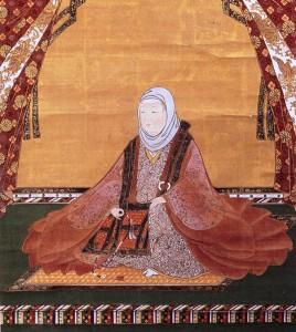 常高寺所蔵、福井県立若狭歴史民俗博物館寄託「常高院像」
